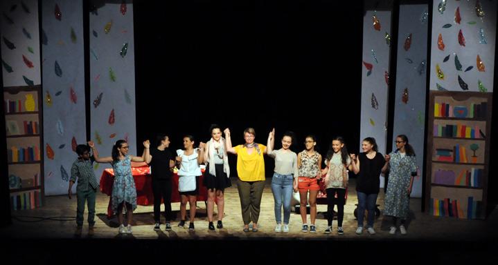 Cours de Théâtre Ados